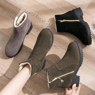 KEITH-WILL時尚鞋館 韓國氣質毛毛靴