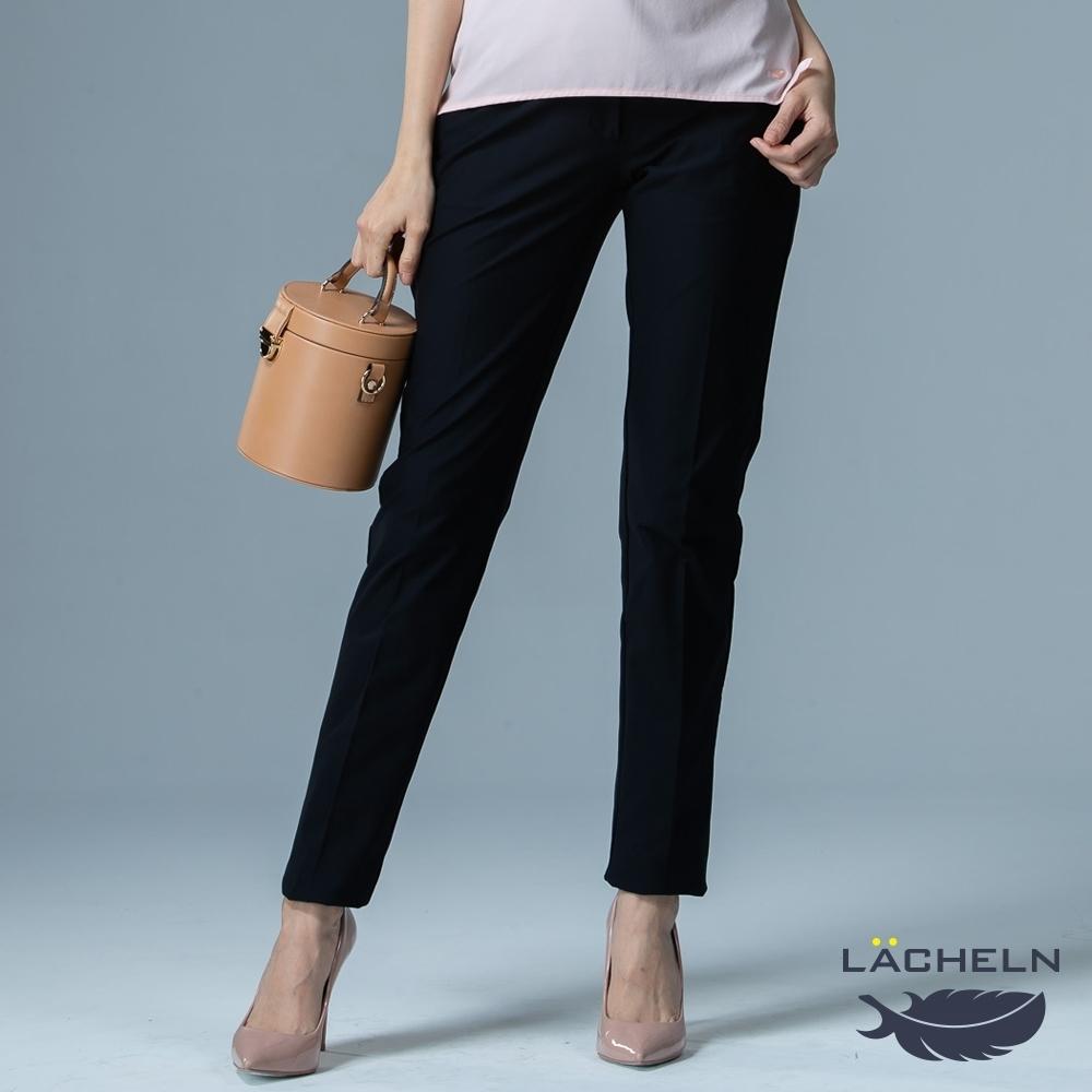 【LACHELN】女款-抗UV吸濕排汗仕女長褲-黑(L91W704)