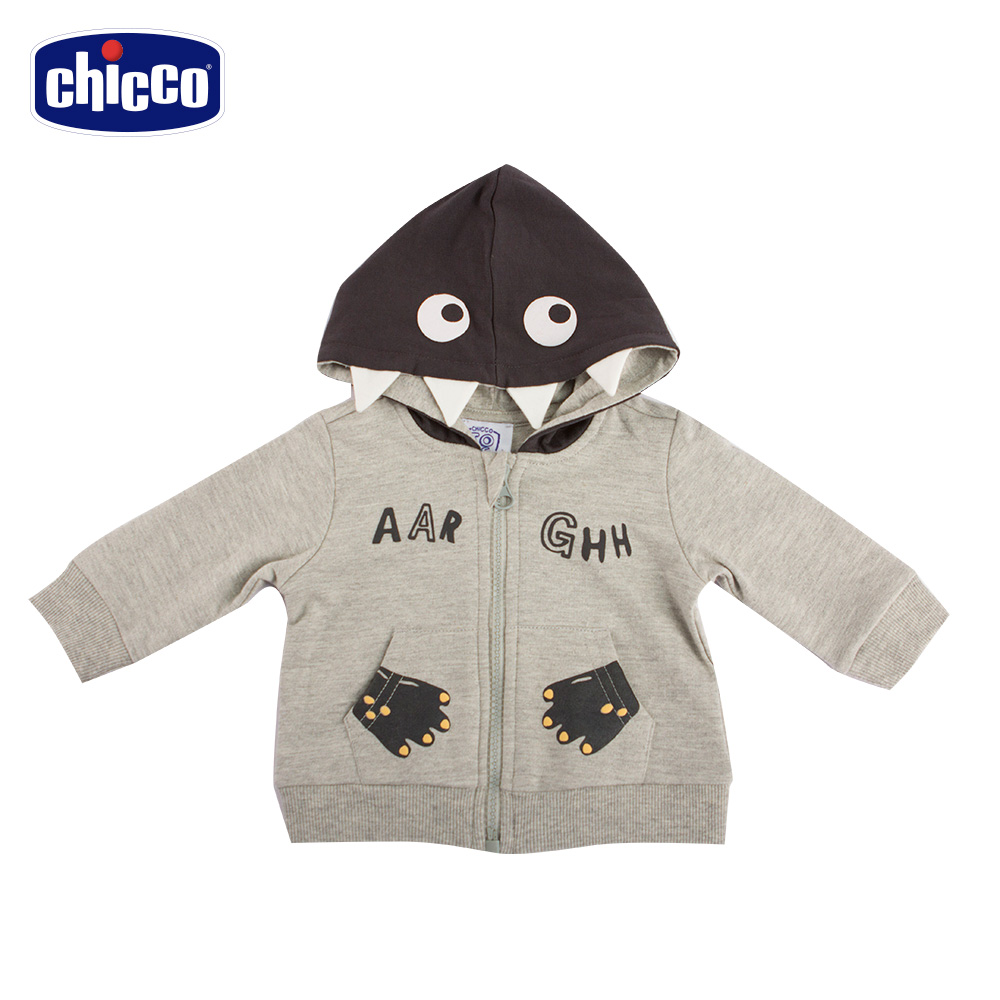 chicco-To Be Baby- 太空怪獸連帽外套