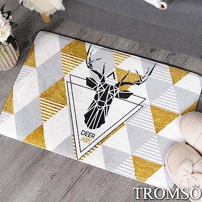 TROMSO 簡單生活超柔軟地墊-M72三角麋鹿