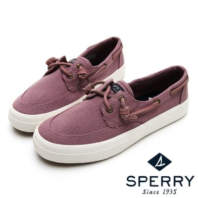 SPERRY CREST BOAT 輕量休閒帆船鞋(女)-淺紫