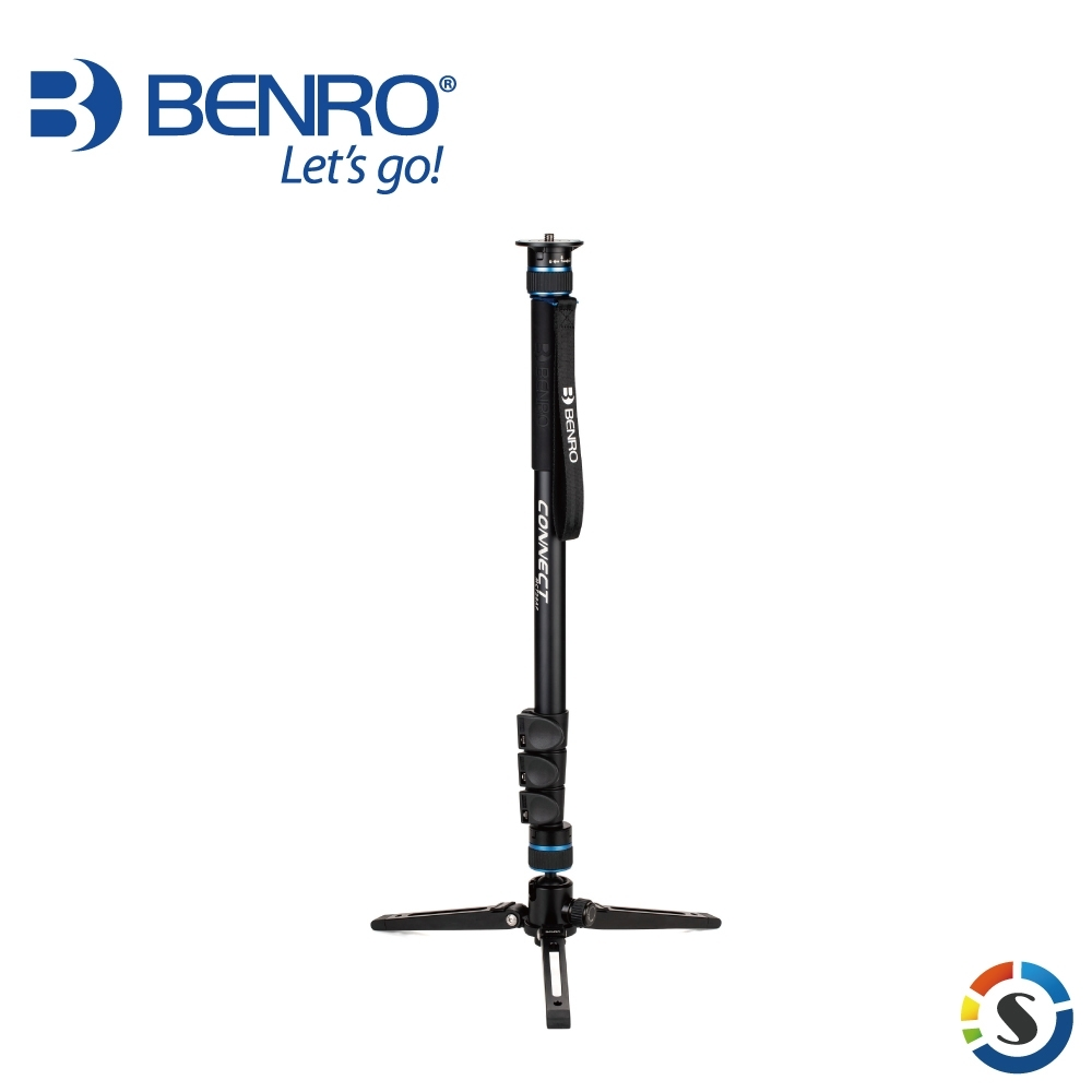 BENRO百諾 MCT28AF CONNECT系列鎂鋁合金單腳架 product image 1