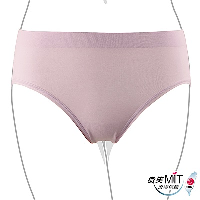 推EASY SHOP-iMEWE 中低腰三角褲(水漾紫)