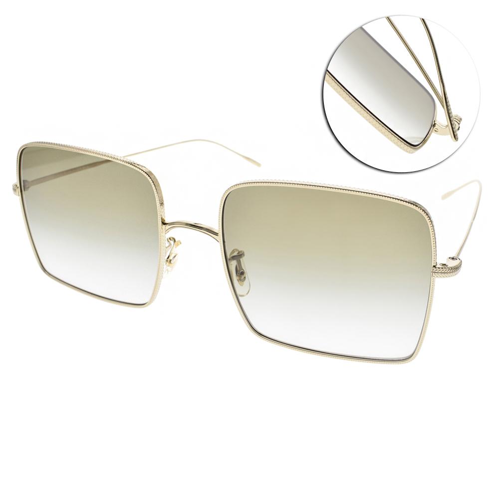 OLIVER PEOPLES墨鏡 熱銷金屬方框/金-漸層綠#RASSINE 50358E