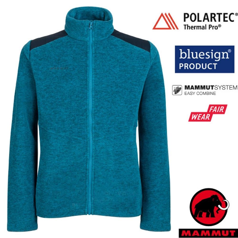 長毛象 男款 Innominata ML 羽量級保暖刷毛外套.夾克_藍寶石