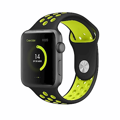 Apple Watch 42mm 亮彩運動防水錶帶