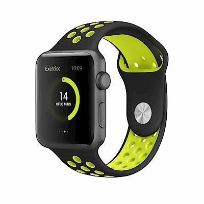 Apple Watch 38mm 亮彩運動防水錶帶