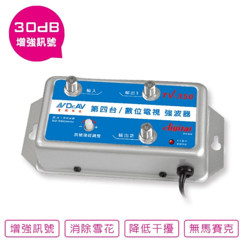 【Dr.AV】第四台/數位電視強波器TV-350