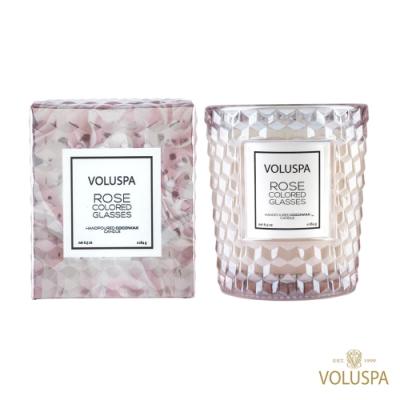 美國香氛VOLUSPA 玫瑰系列 琉璃玫瑰 184g