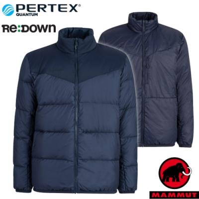 長毛象 男新款 Whitehorn 輕量保暖正反兩穿羽絨外套.夾克_海洋藍