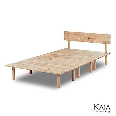 KAIA 簡約木作單人床架