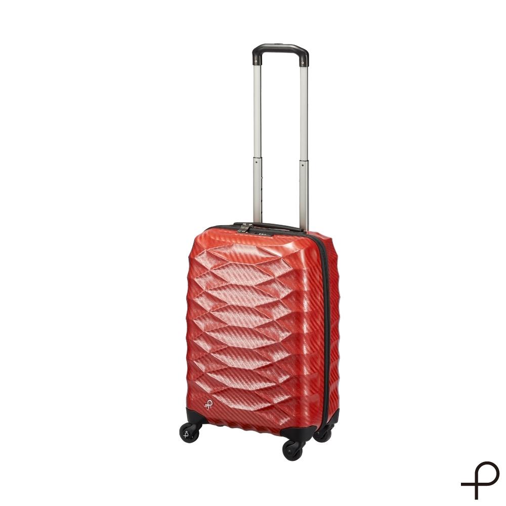 【PROTECA】Light輕彈系列-21吋史上最輕硬殼行李箱 (胭脂紅)