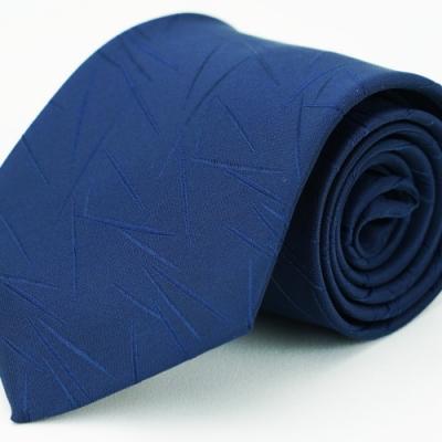 Alpaca 深藍花紋領帶