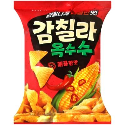Lotte 香辣玉米脆餅(65g)