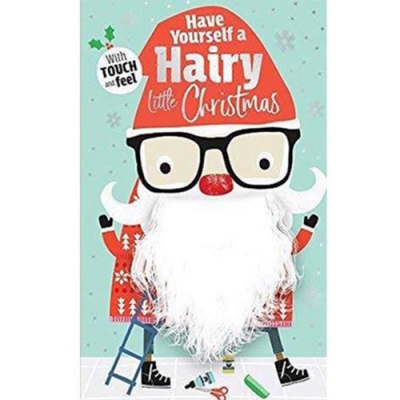 Have Yourself A Hairy Little Christmas 硬頁觸摸書