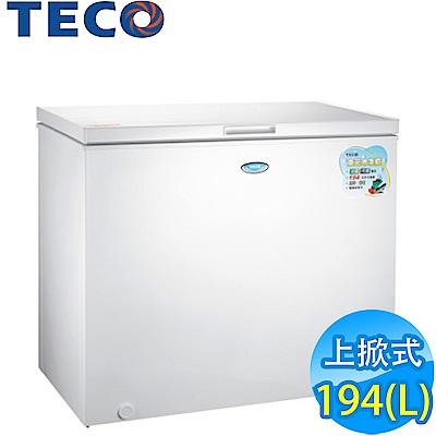 [時時樂限定] TECO東元 194L 上掀式冷凍櫃 RL2017W
