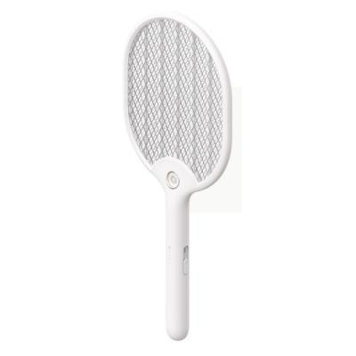 【日本KOTSURU】和扇電蚊拍-珍珠白