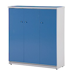 文創集 戴倫環保3.2尺塑鋼三門鞋櫃(10色)-96x33x106cm-免組