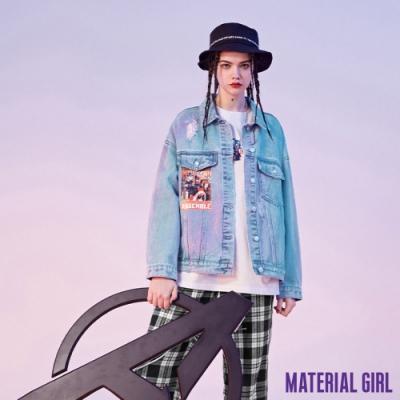 MATERIAL GIRL 漫威復仇者聯盟印花牛仔外套【春季新品】-B140953