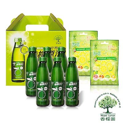 香檬園 台灣原生種有機香檬原汁6入 C糖優惠組