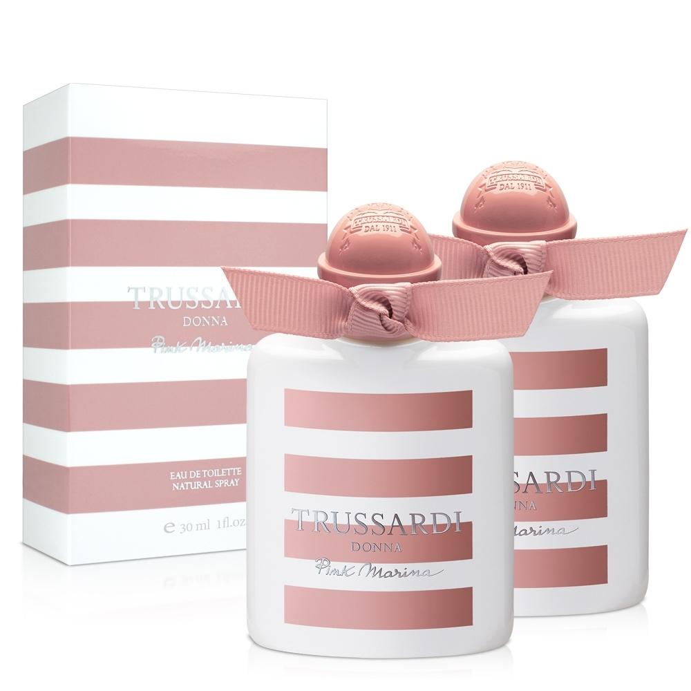 TRUSSARDI 粉紅海岸女性淡香水(30ml)X2入