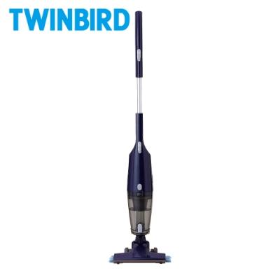 日本TWINBIRD-吸拖兩用無線吸塵器(藍)TC-H107TWBL