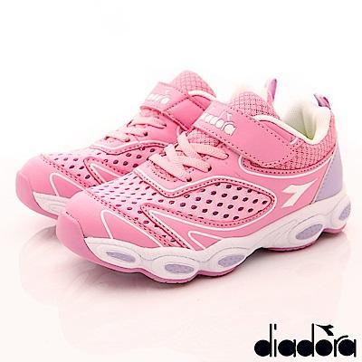 DIADORA 機能透能氣運動鞋款 RSI532粉(中大童段)