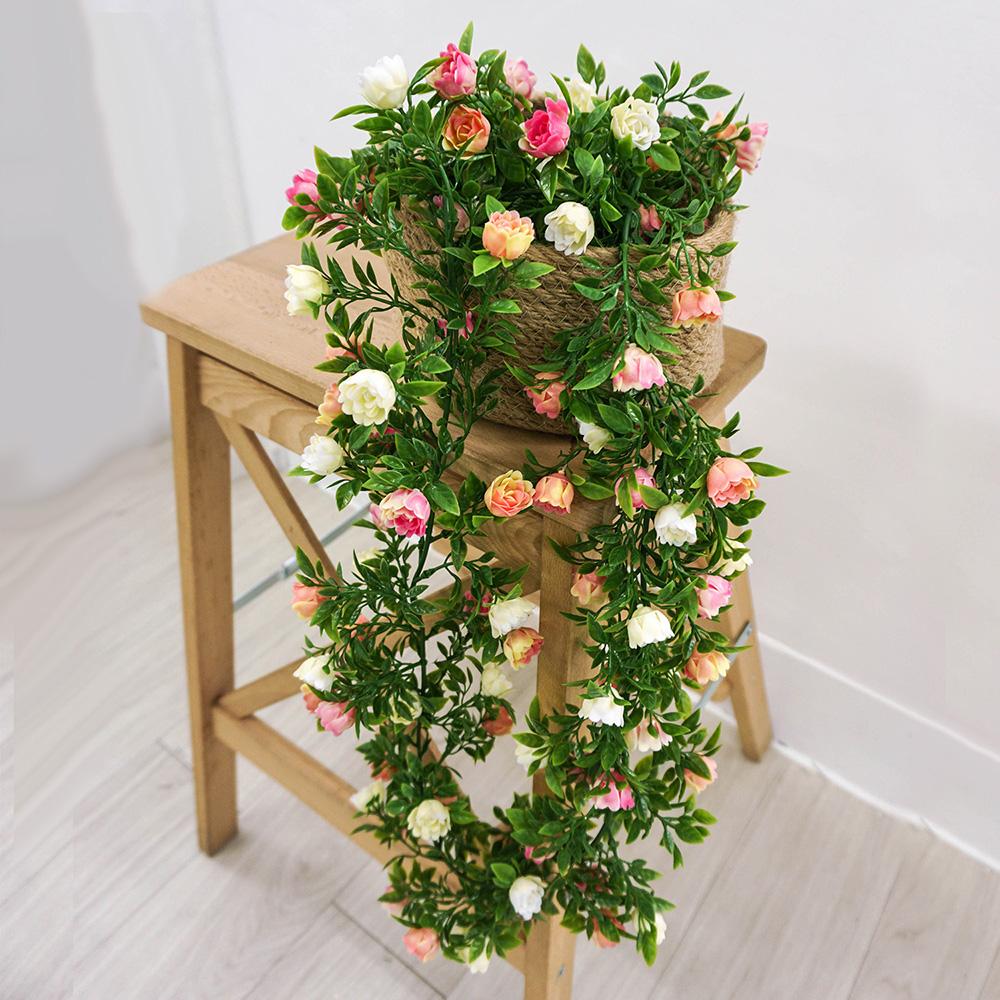 【Meric Garden】仿真小玫瑰藤蔓
