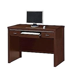 綠活居 艾嘉莉4尺木紋書桌/電腦桌(二色)-120.6x57.6x78.5cm-免組