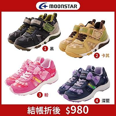 新品任選★日本月星頂級童鞋 玩耍速乾公園鞋款 TW248/TW251(中小童段)