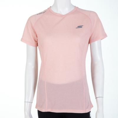 SKECHERS 女短袖衣 - P319W021-00D3