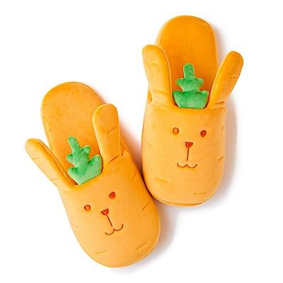 CRAFTHOLIC 宇宙人 紅蘿蔔兔室內拖鞋