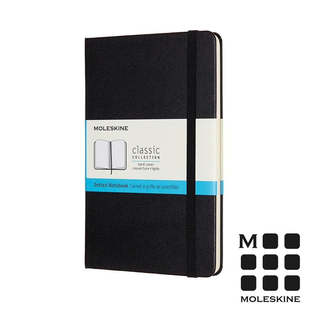 MOLESKINE 經典硬殼筆記本(M型)-點線黑