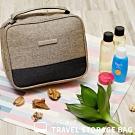 NaSaDen 盥洗袋→沐浴用品/美妝專用收納袋(咖啡棕)