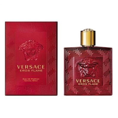 Versace凡賽斯 愛神火焰Eros Flame 淡香精30ml+隨機品牌小香