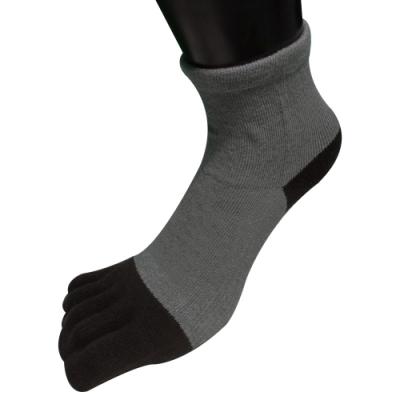 休閒家 三合一機能抗菌除臭萊卡二趾型隱形五趾短襪~6雙