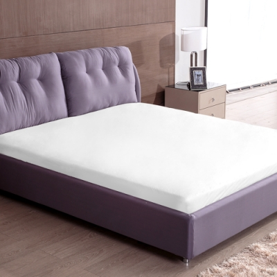 床之戀 床包式防潑水保潔墊-雙人5x6.2尺