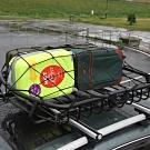 汽車車頂架置物彈力固定網繩.高彈力穩固不鬆脫吊孔式車載行李固定網貨物打包彈力網