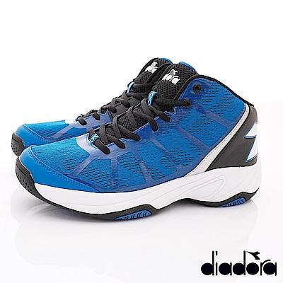 DIADORA-機能吸震耐磨籃球鞋款 FI756藍(男段)G
