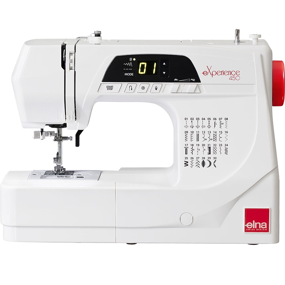 瑞士 elna 電腦縫紉機 eXperience 450
