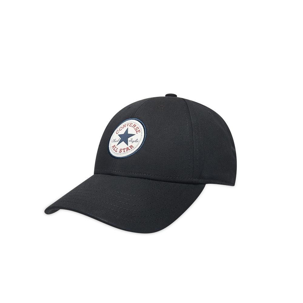 CONVERSE TIPOFF BASBEBALL 可調式棒球帽  男女 黑 10008476-A01