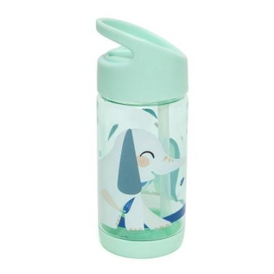 【荷蘭Petit Monkey】兒童水壺 (軟橡膠吸嘴) 320ML (2色任選)