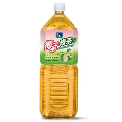 悅氏 梅子綠茶(2000ml)
