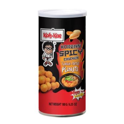 Kohkae大哥 韓式辣雞風味花生豆(180g)