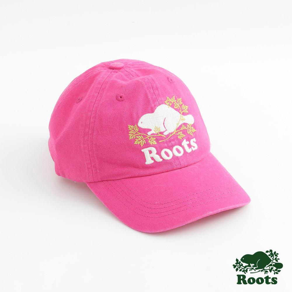 Roots配件- 周年紀念經典棒球帽-粉