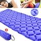 超輕量蛋巢式充氣墊(送收納袋)   蛋槽帳篷充氣睡墊 product thumbnail 1