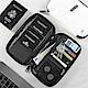 P.travel RFID防盜 防掃描卡片側錄 杜邦面料 護照證件夾 旅遊收納包 product thumbnail 1