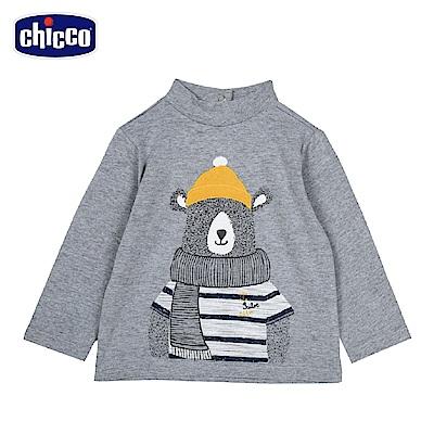 chicco-城市系列-長袖上衣-青(2-4歲)