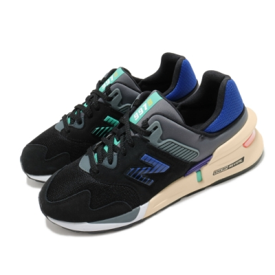 New Balance 休閒鞋 MS997JEC D 運動 男女鞋 紐巴倫 經典款 舒適 簡約 情侶穿搭 黑 藍 MS997JECD