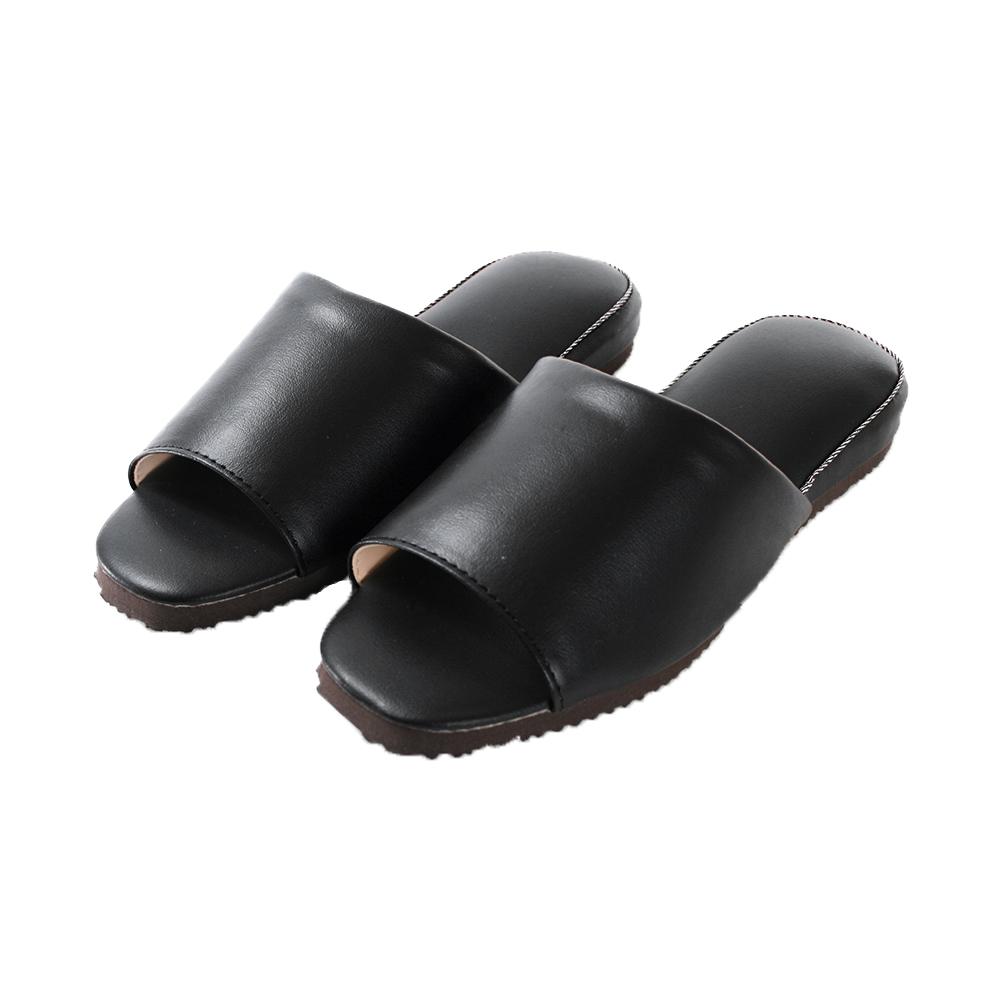 靜音防滑厚底皮拖鞋 sd0528 魔法Baby